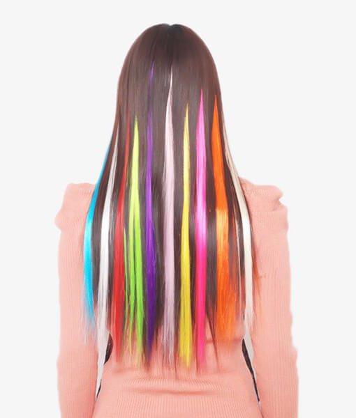 joopzy color clip on hair