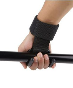 1pcs Strong Pro Weight Lifting Training Sports Gym Hook Grip Strap Glove Wrist Support 2