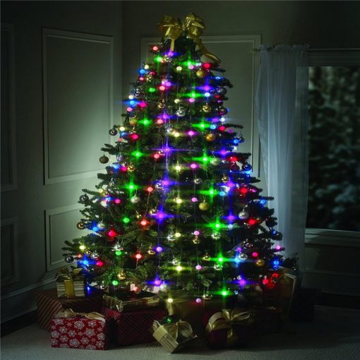 Christmas Tree Dazzler LED String Lights Colourful Changeable Twinkling Night Wedding Lamp Holiday New Year Garden 3