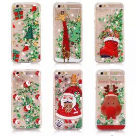 Luxury Glitter Stars Quicksand Phone Case For iPhone 7 6 6S Plus 7Plus Lovely Christmas Tree 280x280 1 1